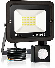 bapro 50W Security Lights with Motion Sensor,Led
