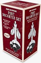 Bar Bespoke Port Decanter & Glasses Set, 750ml