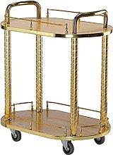 Bar cart Bar Cart Drinks Serving Tea Trolley Gold
