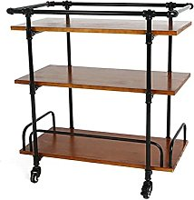 Bar Cart Cocktail Trolley Camping Trolley Drinks