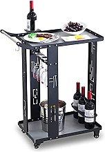 Bar cart Mini bar Cocktail Trolley bar cart