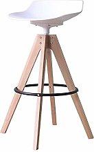 Bar Chair Bar Stool Nordic Simple Solid Wood Bar