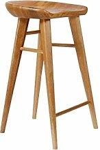 Bar Chair Bar Stools European Solid Wood High