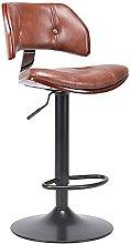 Bar chair rotating retro front desk chair bar