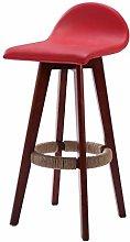 Bar chair Stylish Solid wood front desk bar stool