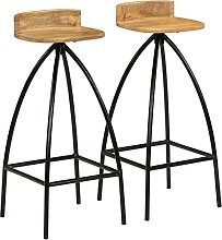 Bar Chairs,Bar Stools with Backrest,Bar Stools