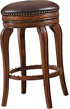 Bar Chairs, With Footrest, 360 Degree Swivel, Easy