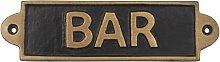 Bar Door Sign Symple Stuff
