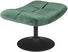 bar Green velvet footrest