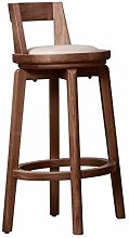 Bar Stool Back Support, Solid Wood Bar Stool,