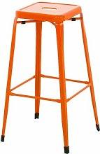 Bar Stool Borough Wharf Colour: Orange