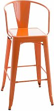Bar Stool Borough Wharf Colour: Orange