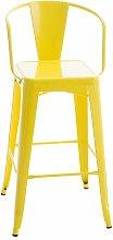 Bar Stool Borough Wharf Colour: Yellow