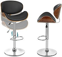 Bar stool Kitchen stools with backs Wooden Frame