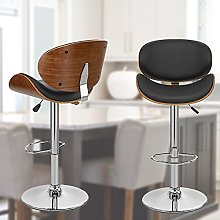 Bar stool Modern Bar Stools Chrome Footrest and