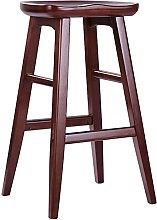 BAR STOOL Solid wood simple front desk stool
