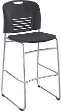 Bar Stool Symple Stuff Seat Colour: Black