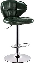 Bar Stool with Footrest, Bar Lift Rotate Stools