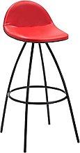 Bar Stool with Footrest, Barstools Retro Bar Stool