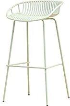Bar Stool Wrought Iron High Chair Front Desk Chair