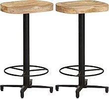 Bar Stools 2 pcs,Furniture Modern Design