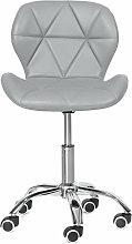 Bar stools Adjustable Swivel Office Chair Gray