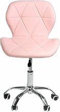 Bar stools Adjustable Swivel Office Chair Pink