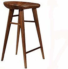 Bar stools Bar Stool Nordic Solid Wood Bar Stool