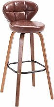Bar Stools for Kitchens, Solid Wood Bar Chair,