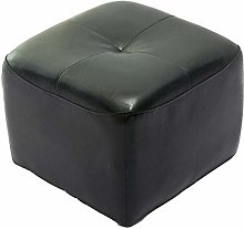 Bar stools - GAOGUIMEI Leather Stool Small Leather