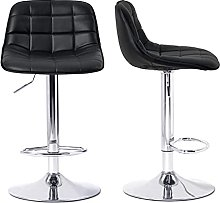 Bar stools set of 2 Bar chair Soft Padded Chairs