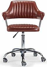 Bar Stools UK Aviator Desk Chair (Brown)