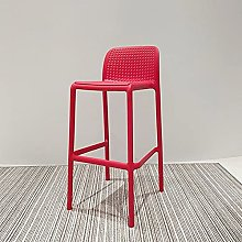 Bar Stools with Back and Footrest, Modern Bar