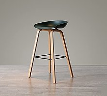 Bar Stools With Footrest And Backrest - 65cm 75cm