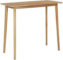 Bar Table 120x60x105 cm Solid Acacia Wood - Brown