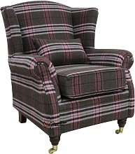 Barbara Wingback Chair Union Rustic Upholstery: