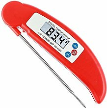 Barbecue Barbecue Thermometer with Folding Probe