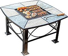 Barbecue Brazier Outdoor Grill Table Fire Pit