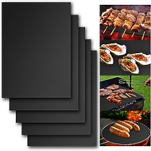Barbecue carpet for grilling, cooking mats for