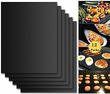 Barbecue Cooking Mat, Set of 12 Barbecue and Oven