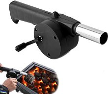 Barbecue Fan Hand-cranked Air Blower Portable BBQ