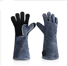 Barbecue Gloves Double Heat Resistant Oven Gloves