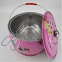Barbecue Grill 12.2-inch Round Shape Charcoal