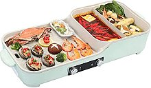 Barbecue Grill 2 In 1 Portable Electric Hot Pot