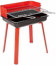 Barbecue Grill BBQ Red Camp Picnic Outdoor Light
