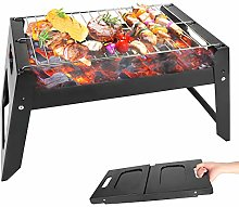 Barbecue Grill, Foldable Barbecue Charcoal Grill