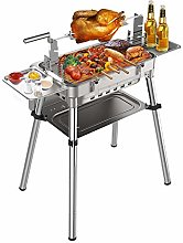 Barbecue Grill, Portable BBQ Charcoal Grill