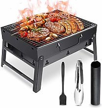 Barbecue Grill, Portable Charcoal Barbecue Grill