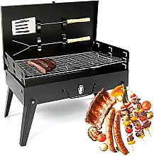 Barbecue Grill, Portable Stainless Steel Foldable