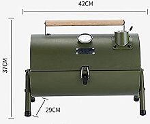 Barbecue grill Silver Army Green Stainless Steel